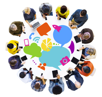 Using Social Media to share and curate content