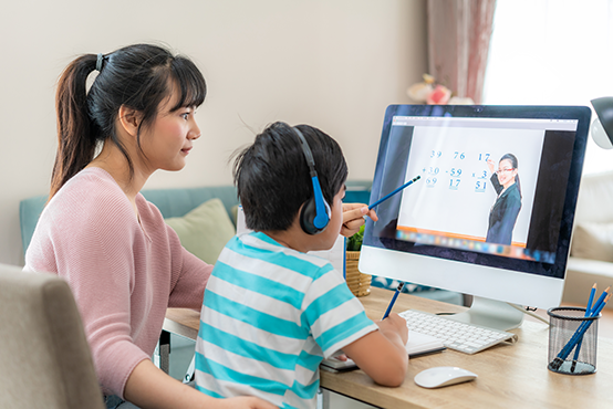 parent and child distance learning
